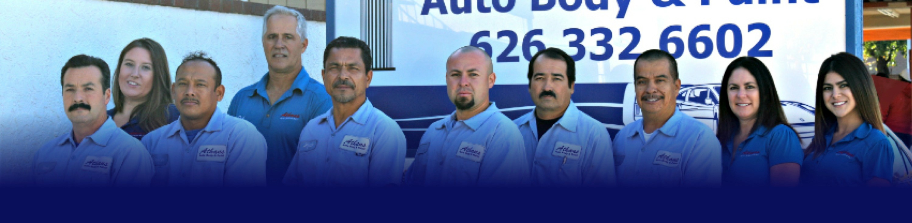 athans auto body company photo banner